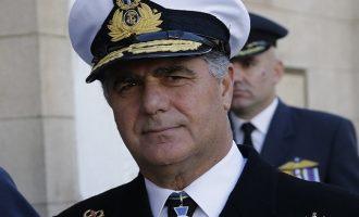 Αρχηγός ΓΕΝ: Θα υπερασπιστούμε την ελληνική υφαλοκρηπίδα