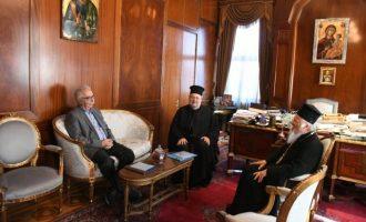 Τους προβληματισμούς του Οικ. Πατριάρχη για τη συμφωνία Πολιτείας-Ελλαδικής Εκκλησίας θα μεταφέρει ο Γαβρόγλου