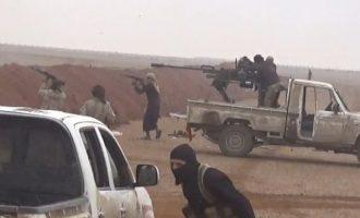 Το Ισλαμικό Κράτος επιτέθηκε το σαββατοκύριακο στον συριακό στρατό