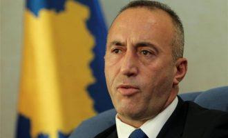 Παραιτήθηκε ο πρωθυπουργός του Κοσόβου Ράμους Χαραντινάι
