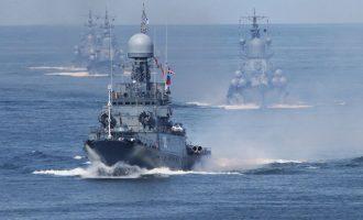 Οι Ρώσοι σχεδιάζουν να μείνουν «μόνιμα» στην Ανατολική Μεσόγειο