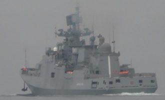 Ο Πούτιν μαζεύει στόλο στην Ανατολική Μεσόγειο για τους τζιχαντιστές, λένε οι Ρώσοι