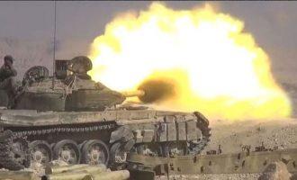 Τζιχαντιστές πολιορκημένοι στο ηφαίστειο Αλ Σάφα αντεπιτέθηκαν με επιτυχία στον συριακό στρατό