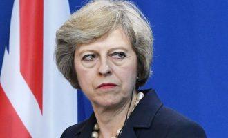 Την Παρασκευή η Τερέζα Μέι παραιτείται από πρωθυπουργός της Βρετανίας