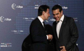 Ελληνο-ιταλικό τετ α τετ στη Διεθνή Διάσκεψη για τη Λιβύη – Τα θέματα «φωτιά»