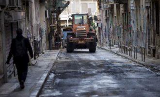 ΝΔ: Τεράστιες ευθύνες για τα επεισόδια και τις καταστροφές
