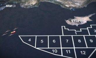 Οι Τούρκοι έστειλαν έγγραφο στις Βρυξέλλες δηλώνοντας «δική τους» τη μισή ΑΟΖ της Κύπρου