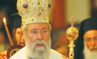 Αρχιεπίσκοπος Κύπρου: Στόχος της Τουρκίας είναι να πάρει ολόκληρη την Κύπρο όπως πήρε την Αντιόχεια