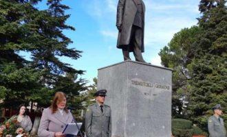 Εορτασμοί στην Αλβανία επειδή «δεν πήραν οι Έλληνες την Κορυτσά» και τιμές στον προδότη Γερμένη