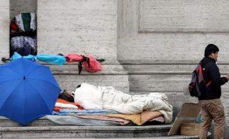 Το 25% των Ιταλών κινδυνεύει από φτώχεια και κοινωνικό αποκλεισμό