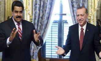 Ο Ερντογάν «γράφει» τις ΗΠΑ και θέλει να κάνει εμπόριο χρυσού με τη Βενεζουέλα