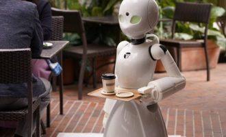 Παράλυτοι ελέγχουν ρομπότ – σερβιτόρους και κερδίζουν 8 ευρώ ημερησίως (βίντεο)