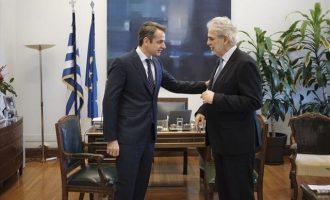 Τι είπε ο Μητσοτάκης στον Στυλιανίδη για τον Ευρωπαϊκό Μηχανισμό Πολιτικής Προστασίας