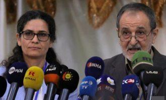 Αντιπρόσωποι των Κούρδων στο Παλάτι Ελιζέ – Η Γαλλία συνεχίζει να υποστηρίζει τις SDF