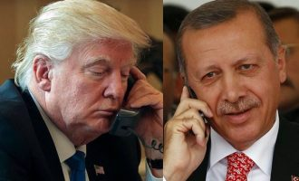Τηλεφωνήθηκαν Τραμπ και Ερντογάν για τη Λιβύη