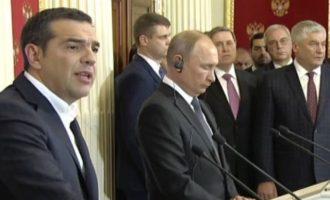 Αλέξης Τσίπρας: «Δεν υπάρχει καμία σκέψη για προοπτική στρατιωτικοποίησης της Κύπρου»