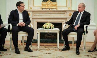 Τα κέρδη της κυβέρνησης από τη συνάντηση Τσίπρα-Πούτιν στη Μόσχα