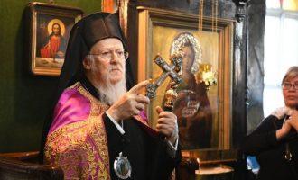 Ο Οικ. Πατριάρχης προσκάλεσε τον Προκαθήμενο της Ουκρανίας να συλλειτουργήσουν τα Θεοφάνεια στο Φανάρι