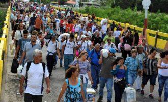 ΟΗΕ: Ακόμα 2 εκ. άνθρωποι από τη Βενεζουέλα θα γίνουν μετανάστες μέσα στο 2019