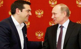 Τσίπρας σε Πούτιν: Η ιστορική συνεργασία Ελλάδας-Ρωσίας παραμένει αναγκαία