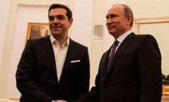 Τα πρώτα λόγια που αντάλλαξαν Τσίπρας και Πούτιν στο Κρεμλίνο