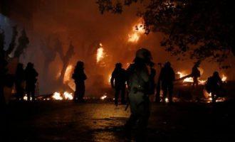 Δεκατρείς συλλήψεις από τα επεισόδια στην Αθήνα