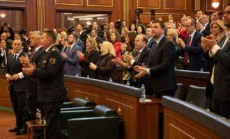 Η Βουλή του Κοσόβου ενέκρινε τη δημιουργία στρατού
