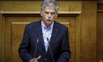 Δανέλλης: Αν δεν υπήρχε κυβέρνηση να φέρει τη Συμφωνία των Πρεσπών δεν θα υπήρχε Συμφωνία