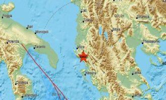Σεισμός 4,4 Ρίχτερ στη Χειμάρρα στις 21.27 της Παρασκευής
