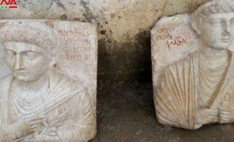 Οι συριακές Αρχές ανέκτησαν δύο αρχαία ανάγλυφα που είχε κλέψει το Ισλαμικό Κράτος