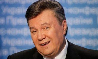 Ένοχος για προδοσία ο πρώην πρόεδρος της Ουκρανίας Βίκτορ Γιανουκόβιτς