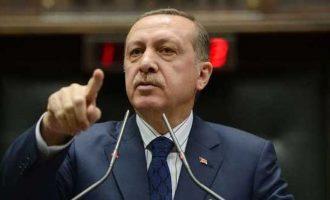 Ο Ερντογάν απείλησε με «αποφασιστικότητα» την Κύπρο – Ηχεί τα τύμπανα