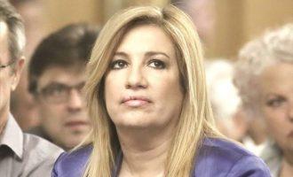 Η Φώφη κάλεσε Αθήνα και Λευκωσία να εξασφαλίσουν καταδίκη της Τουρκίας από τους ηγέτες της ΕΕ