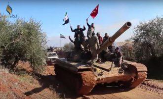 Μάχες δυτικά της Μανμπίτζ – Μισθοφόροι των Τούρκων επιτέθηκαν στις SDF