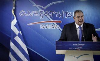 Οι Ανεξάρτητοι Έλληνες τώρα λένε ότι ίσως να κατέβουν στις εθνικές εκλογές