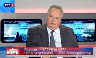 Ο Νίκος Κοτζιάς έριξε «βόμβα» για την «κομπίνα» πρώην πρωθυπουργού να δοθεί το όνομα «Μακεδονία» στα Σκόπια