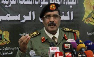 Εκπρόσωπος Λιβυκού Εθνικού Στρατού: «Θα συντρίψουμε τις ουρές της Τουρκίας και του Κατάρ»