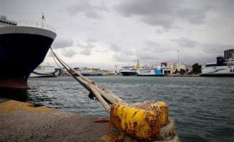 Παράνομη κρίθηκε η 24ωρη απεργία στα πλοία την Πέμπτη