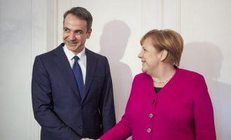 Η Καγκελαρία ανακοίνωσε τι θα συζητήσουν Μέρκελ και Μητσοτάκης