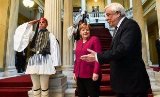 Παυλόπουλος σε Μέρκελ: Στηρίζοντας την Ελλάδα στηρίζετε την Ευρώπη
