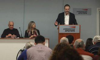 Θαν. Θεοχαρόπουλος: Η ψήφιση της Συμφωνίας των Πρεσπών είναι πατριωτικό καθήκον