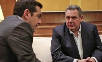 Ραγδαίες εξελίξεις: Ο Τσίπρας κάλεσε τον Καμμένο την Κυριακή στο Μαξίμου