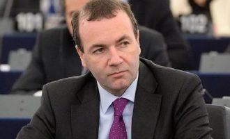 Βέμπερ: Ο Ερντογάν προκαλεί – Η Ευρώπη πρέπει να αντιδράσει με κυρώσεις