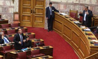 Σκληρή κόντρα Πολάκη-Γεωργιάδη στη Βουλή