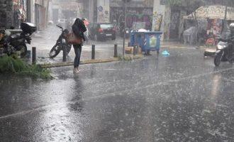 Σαρωτικούς ανέμους έως 10 μποφόρ φέρνει η «Χιόνη» – Ποιες περιοχές κινδυνεύουν
