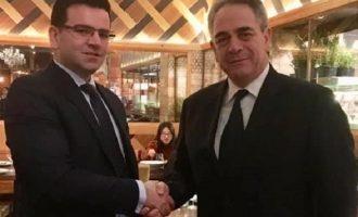 Συνάντηση Μίχαλου με τον υπ. Ανάπτυξης της ΠΓΔΜ – Τι συζήτησαν