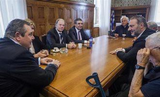 Διαλύονται οι ΑΝΕΛ αν φύγει ή εκδιωχθεί ο Παπαχριστόπουλος