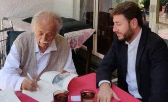 Με τον Έλληνα δικηγόρο του Νέλσον Μαντέλα συναντήθηκε ο Νίκος Ανδρουλάκης