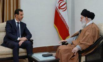 Ο Άσαντ επισκέφθηκε το Ιράν μετά απο οχτώ χρόνια
