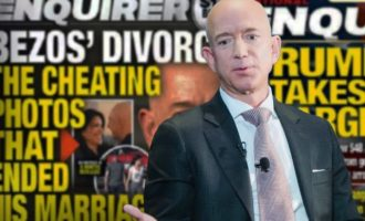 Ο Μπέζος κατηγορεί το National Enquirer για «εκβιασμό» και «πολιτικά υποκινούμενη» επίθεση